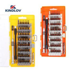 KINDLOV Screwdriver Set Magnetic 60 In 1 Destornillador BIt Kit Precision Torx Hex Screw Driver Multitools Hand Tools