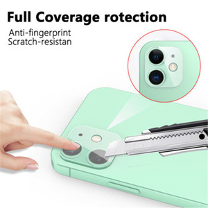 Free DHL For iPhone 12 Pro Max Mini 11 Pro Max Screen Protector Case Clear Slim Cover Camera Screen Protector