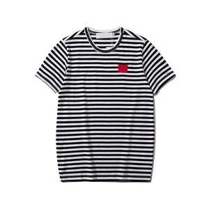 Summer new mens T shirt black white casual T shirt mens fashion stylist womens T shirt jacket couples short sleeves
