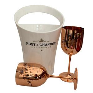 Vinho Champagne Coupes Cocktail de vidro Moet Champagne Flutes Galvanização Copa Wine Goblet Electroplated plásticas copos bbyFFs bwkf