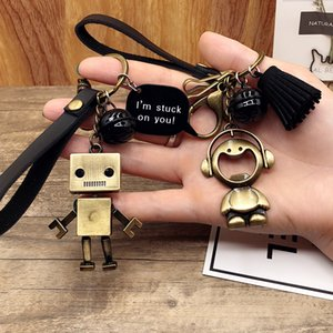sheep cub key chain pendant creative personality cai chain ring lovely ladies bag ornamentsTransparent Formal Prom Phone