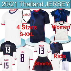 4 Sterne US 2020 21 Pulisic Reyna Ein Fußball Männer Frauen Kinder Kit Jerseys dest McKennie Lloyd Morgan America Football United States Shirts Hosen