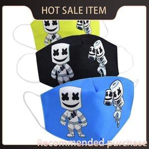 Kumaş Kid Çocuk Gençlik Pamuk Maske Kayak Maskeler Bwkf SRyda Bezi Kid Axmk için Neopren Yüz Karikatür Ağız Çocuk Maskesi Bombacio Cubreboca Maske
