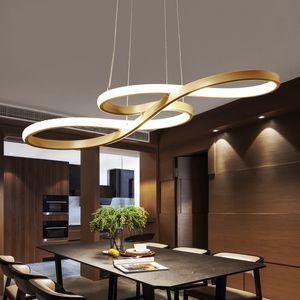 Современные светодиодные Подвесной Светится Музыкальная нота кухни Декор Подвесной светильник Nordic Простой изогнутый Свет для гостиной Главная Loft освещение