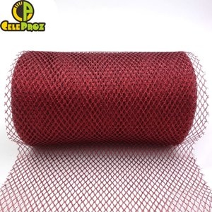 VTulle Mesh 15cm Roll 25Yards Shiny Glitter For DIY Christimas Tree Bow Decoration Wedding Chair Sash 22.8 Meters