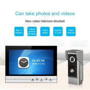 Interphone Vidéo Soorbell Vidéo-Eye Interphones pour une maison privée Appel vidéo Home Intercom Gardien de but téléphone1