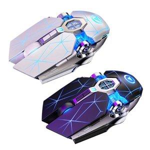 Профессиональная игровая мышь 3200dpi 7 кнопок Mechanical Проводная подсветкой Бесшумный Компьютерная поддержка мыши Macro Definition