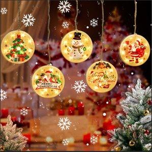 Yeni LED buz şerit Noel dekoratif ışıklar oda süslemeleri renkli yıldız ışıkları dize su geçirmez iç ve dış mekan kullanımı GWE1955 ışıkları