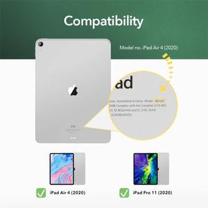 9H gehärteter Glasschirmschutzfolie für iPad Air 4 2020 mit Installationsrahmen Full Protect Premium Clear