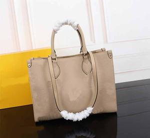 M45495 bag OnTheGo fashion Tote L flower pattern genuine leather women purse bag classical style medium size women handbags