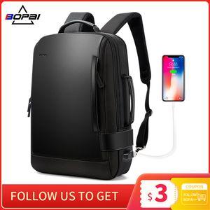 Anti-Theft Travel Enlarge Inch USB External Charge Men Backpack Backpack Laptop Shoulders 15.6 wholesale Waterproof Brand Icixj