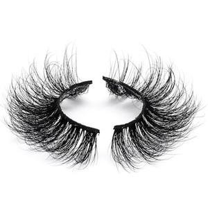 3D Mink Lashes Natural Eyelashes Makeup wispy Fuffy Lash 18mm False Lashes X-20