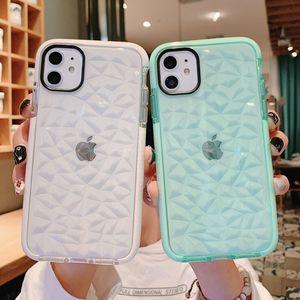 Lusso gelatina per l'iPhone cassa del telefono 12 mini 11 Pro XS Max XR X 7 8 6 6s plus morbida trasparente antiurto in silicone copertura trasparente sogno Shell