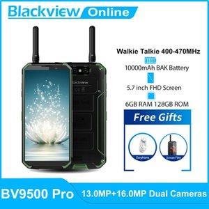 "Blackview BV9500 Pro IP68 Waterproof Walkie Talkie Smartphone 6GB+128GB Octa Core 5.7"" FHD 18:9 10000mAh Battery Mobile Phone"