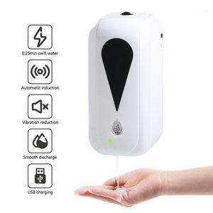 1000ml Wall-Mount Automatic Soap Dispenser Sensor Lotion Spray Liquid Dispenser Touchless Sanitizer Machine for Kitchen Bathroom1