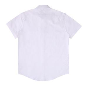 Camicie da uomo Casual T Shirt casual T Shirt da uomo Moda classica Black Bianco Mens Manica corta taglia S-XL