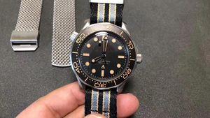 Novo Luxo Men's Watch Edição Limitada Caso de Aço Inoxidável Movimento Mecânico Múltiplo Múltiplos Relógios