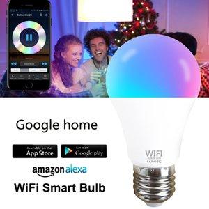 Smart Home WIFI Led Light Bulb 15W E27 E26 B22 Smart RGB 220V WIFI Light Lamp Color Compatible With Alexa Google Siri Assistant