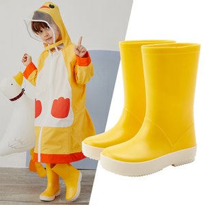 Dripdrop Toddler Kids Rain Boots Girls Boys Ragazzi Classic School Boots Aloat Rain Rainwear Raincoat Raincoat LJ200911
