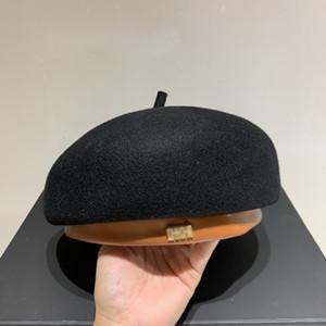 2020 Yeni Moda Tasarımcısı Elegant Lady Bereliler Mizaç Siyah yönlü Serin Lüks Avrupa Tarzı Bereliler 2101006B