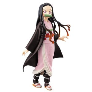 Demon Slayer Japanese anime character model 11 anime doll cartoon toy ornament toy doll children's gift