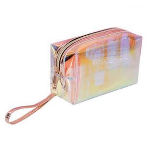 Transparent Cosmetic Bag Female Storage Bag Waterproof Wash1