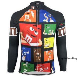 2021 Men M &M &#039 ;S Cycling Jerseys Bike Wear Long Sleeve Cycling Clothing Mtb Ropa Ciclismo Maillot Outdoor Bicycle Clothes Cool Class