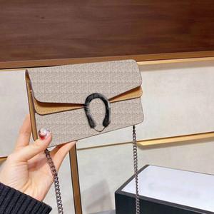 2021 Nova Moda Senhoras Saco de Ombro Clássico Cadeia Termos Bolsa Bolsa de Embreagem de Tamanho Pequeno Bolsa Na Moda Sacola Com Caixa