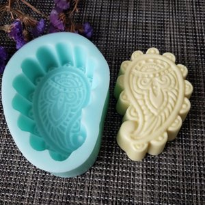 3d eyes of Fatima Emboss handmade soap making molds silicone soap mould candle art mold resin clay mold PRZY QT0120 T200703