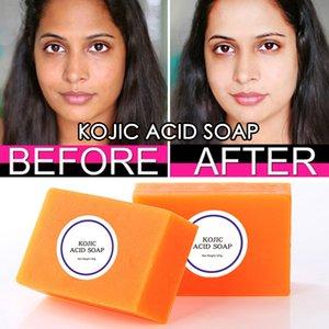 100g Kojic Acid Soap Dark Black Skin Lightening Hand made Glutathione Whitening Skin Bleaching Soap Brighten Face