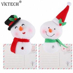 Xmas Fridge Magnet Messaggio Sticker magnete del frigorifero del pupazzo di neve di Natale decorazioni per la casa auto Accessori Cucina oVf2 #