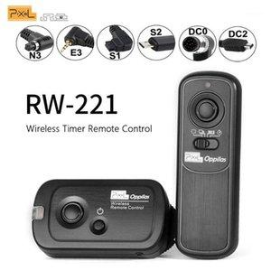 Pixel RW-221 Obturador Sem Fio Liberação Timer Controle Remoto (DC0 DC2 N3 E3 S1 S2) Para Câmera vs TW283 RC-61