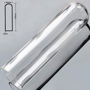 Hollow Pyrex Glass Artificial Penis Big Anal Dildo Butt Plug Crystal Fake Male Dick Masturbator Adult Sex Toys for Women Men Gay 17308