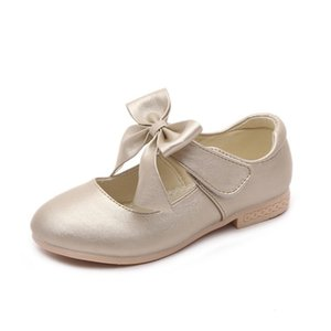 Cozulma Spring Summer Dress Girls Princess Children Casual Sneakers Zapatos de cuero para niños Piso 201113