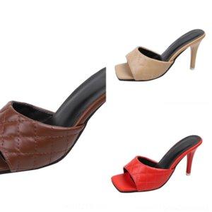 Ogt heiße hochwertige Verkauf-Frauen-Dener-Sommer-offene TOE-Sandalen Mode Sandalen Slipper Slipper Damen Light Slip On