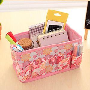 2019 Women Makeup Bag Cosmetic Storage Box Bags Long Holding Foldable Travel Pouch Purse Organizer Bolsa Maquillaje Toile