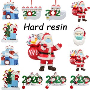 Spot popular Christmas decoration wholesale price DIY name greetings personalized home decoration lucky 2020 quarantine decorated Christmas