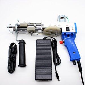máquinas que acuden alfombras tufting eléctrica mano de la pistola del arma del tejido de alfombras de pelo cortado TD-01/02