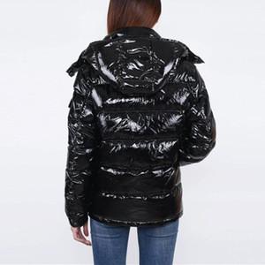 donne giù giacca giacca invernale parka cappotti superiori di nuova delle donne inverno casuale caldi all'aperto Feather Man Outwear addensare