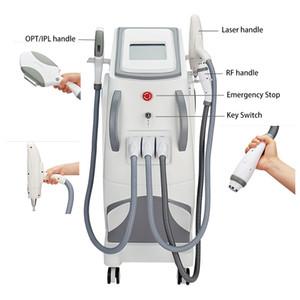 3 in 1 IPL Nd yag laser rf machine IPL hair removal Tattoo Removal Professional IPL Hair Removal OPT Skin Rejuvenation