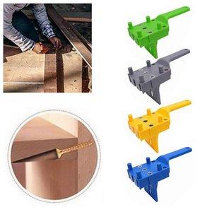 1 unids Woodworking Oblique Agujero Localizador Durable Práctico Práctico Multifuncional Bits Pocket Hole Jig DIY Carpentry Herramientas