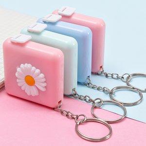 Portable Soft Tape Measure Cartoon Cute Tape Measure Mini Portable Ruler Girl-length Measuring Ruler Cute Multi-function Key Chain