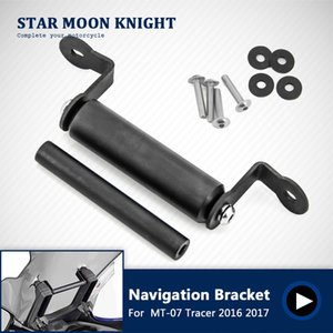 Motorcycle Accessories Stand Holder Mobile Phone GPS Plate Bracket For YAMAHA MT-07 Tracer MT 07 MT07