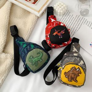 New children's purse boy dinosaur cross-body small bag fashion children's chest bag zero purse baby bag