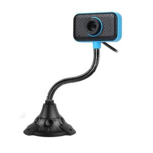 USB HD LED Web Camera With Noise Cancelling Mic for Computer PC Laptop Desktop Office Study Game 360 Degree Rotation Webcam