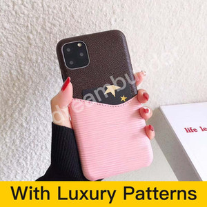 L Fashion Phone Cases for iPhone 12 Pro Max 11 Pro Max 7 8 Plus Designer for iPhone X XR XS Max مع البطاقة