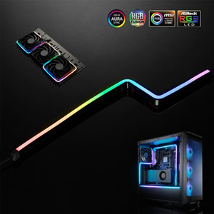 PHANTEKS ARGB Light Strip DIY Shape Decoration LED Strip 5V3Pin AURA 40 55 100CM Water Cooler Custom Lighting MOD Adjustable LED