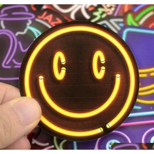 50 Pcs Neon Sign Stickers Doodle Novelty Sticker Toy For Kids Diy Home Laptop Luggage Scrapbook Bottle Skateboard Motorc sqcuKc abc2007