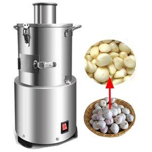 Aço inoxidável Automatic Todo Garlic Peeler Comercial Peeling Machine Garlics Skin Remover para Home Restaurant Hotel