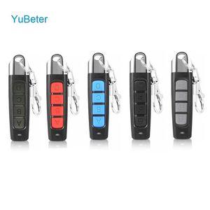 YuBeter 315MHZ Remote Control Clone Duplicator Remote Control ABCD / bloquear botões garagem Copiar Controlador Anti-roubo de bloqueio do teclado
